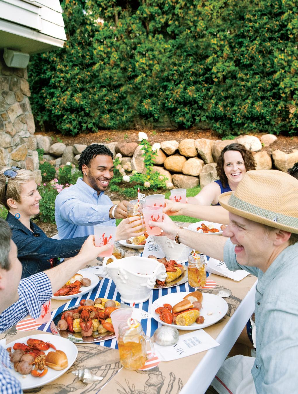 Crawfish-Feast_Outdoor-Summer-Entertaining_Cheers
