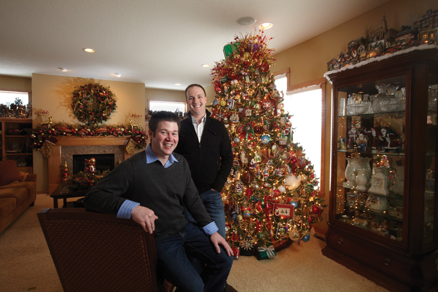 Woodbury couple embrace the spirit of Christmas in their home
