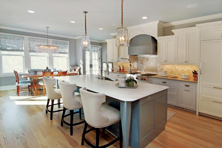 A cottage-style kitchen