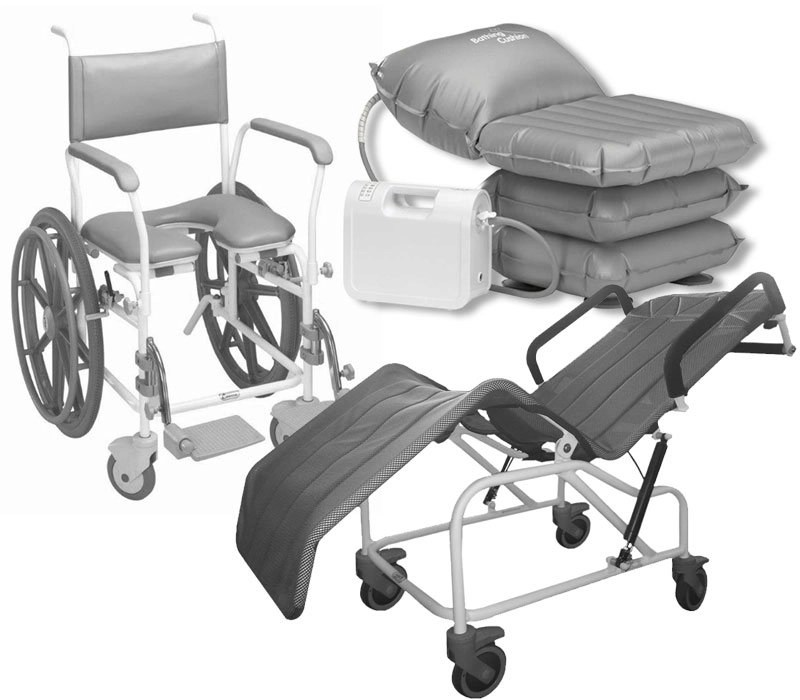 disability bathing and showering equipment