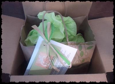 Green Grab Bag in box