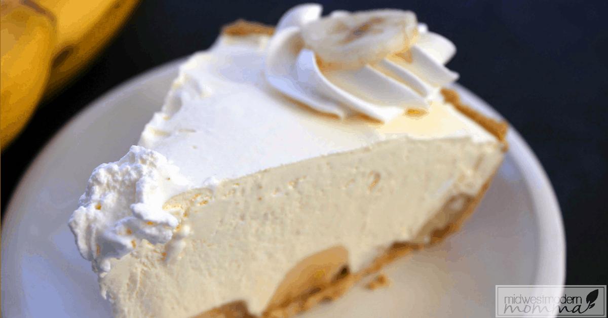 Semi-Homemade Banana Cream Pie