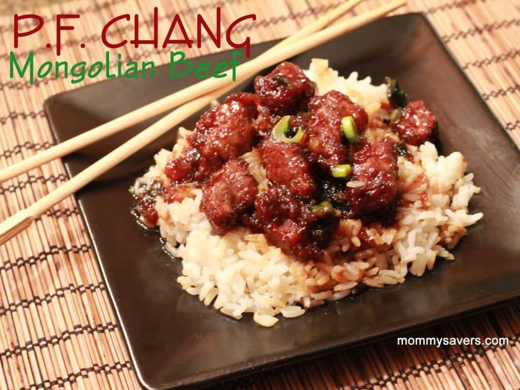 P.F. Chang Beef Recipe