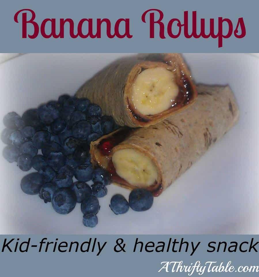 Banana Roll Ups