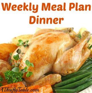 Meal Planning: Dinner