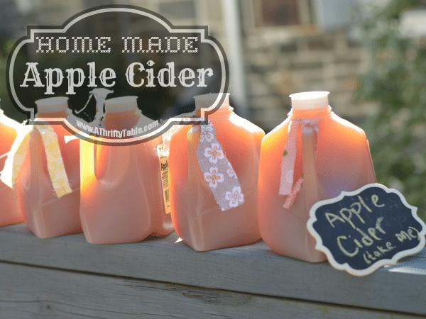 homemde apple cider