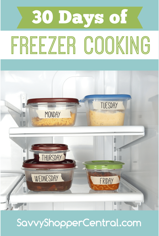 30 Days Freezer Cooking
