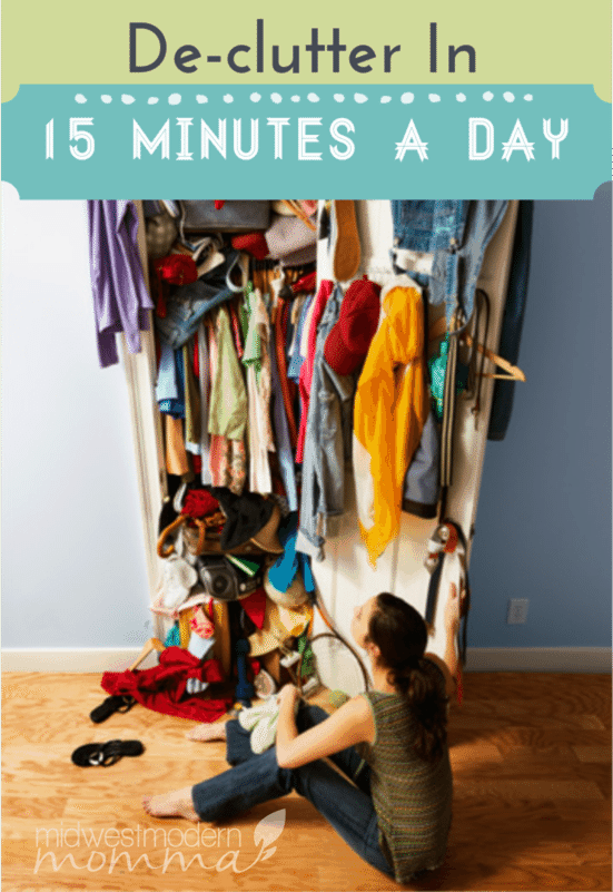 Declutter In 15 Minutes A Day