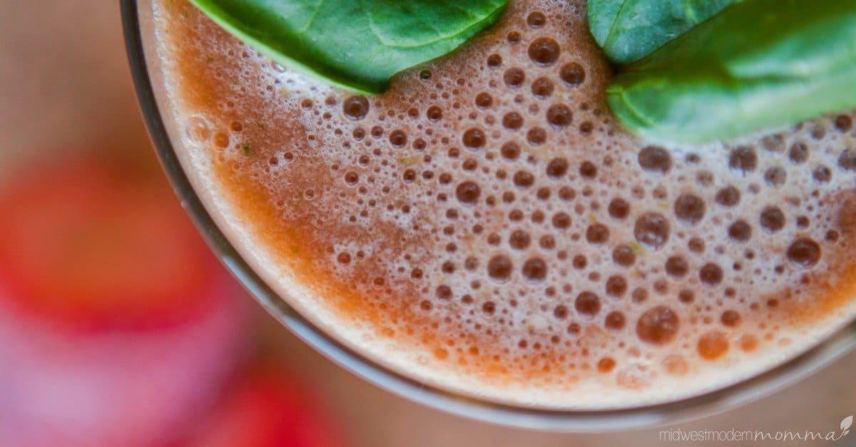 Strawberry Green Smoothie Recipe