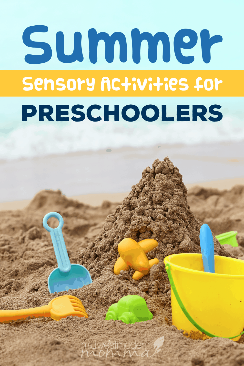 These fun summer sensory activities can be used for any age with a few adaptations.