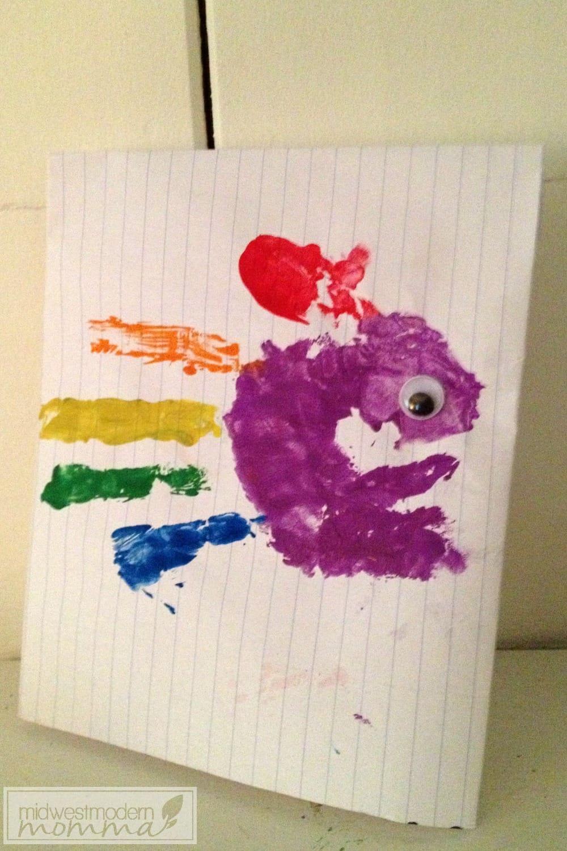 Rainbow Fish Lesson Plan & Craft Idea