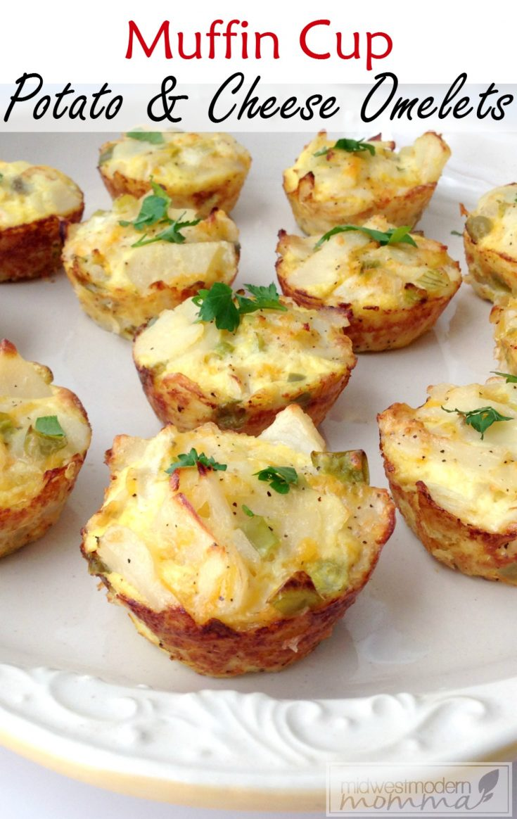 Omelette Muffins are a wonderful Paleo breakfast option that everyone will love. Best part? It is an easy make ahead freezer meal!