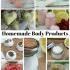 Best Homemade Sugar Scrub Recipe Ideas & Body Products