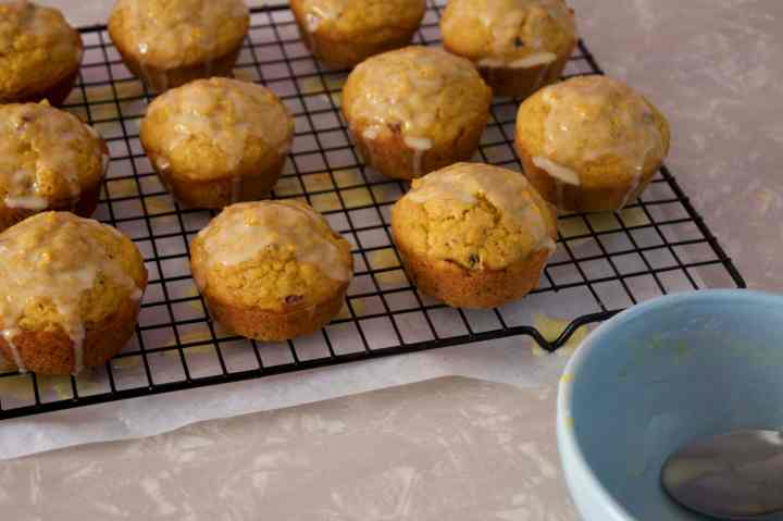 pumpkin cran muffins 4