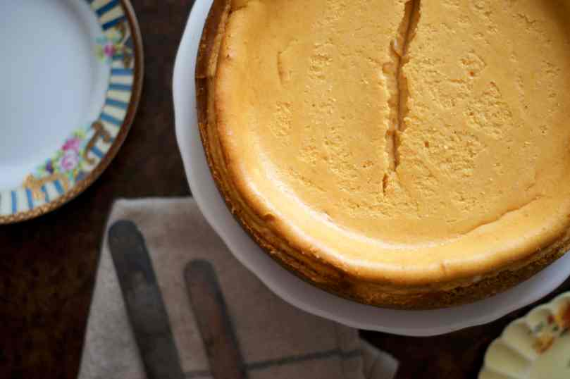 butternut squash cheesecake (with a ritz cracker crust!) | www.midwestniceblog.com