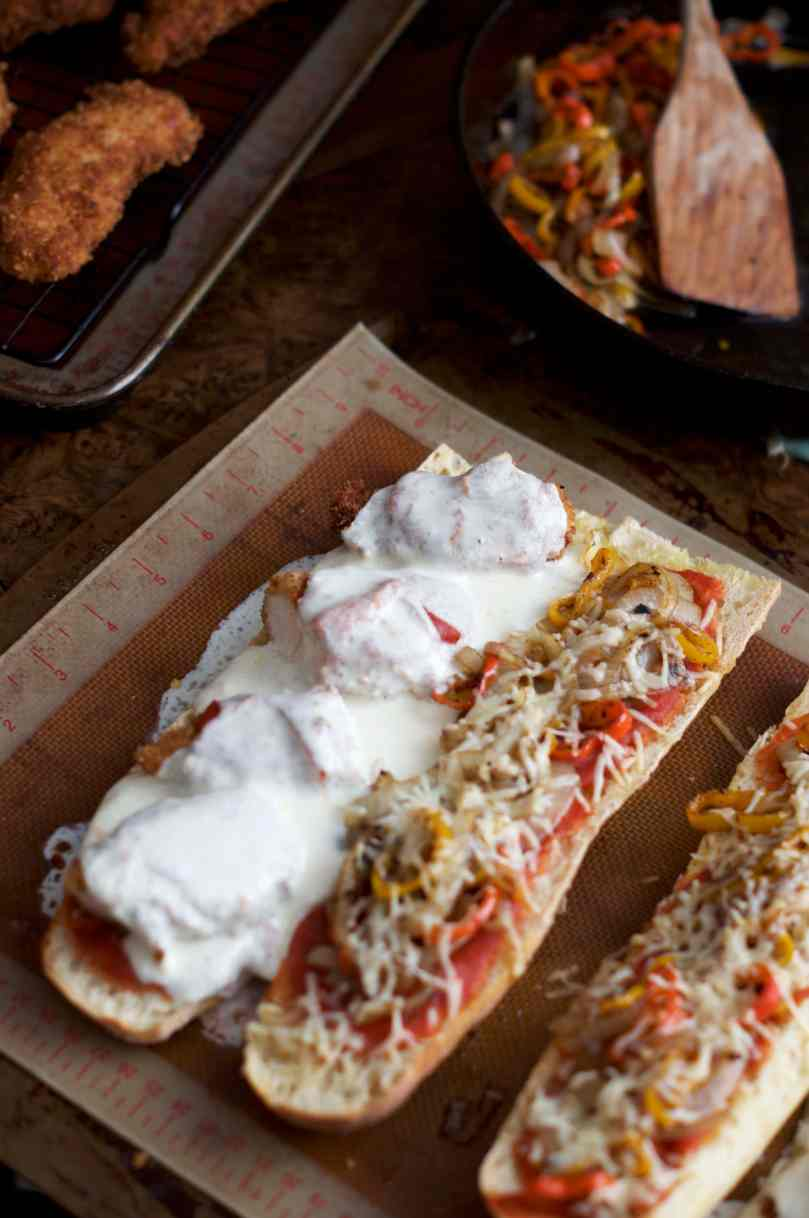 Chicken Parm Subs | via Midwest Nice Blog