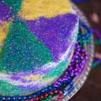 King Cake Layer Cake