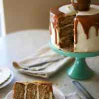 Caramel Apple Cake (& emotions)