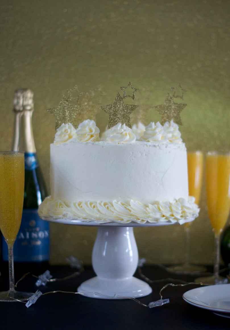 Mimosa Layer Cake