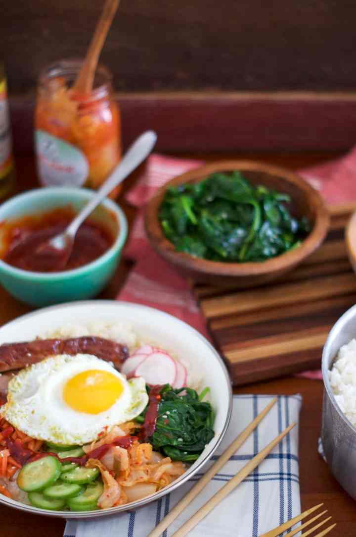 Pork Belly Bibimbap