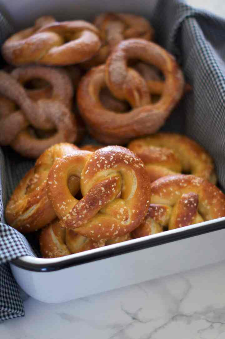 Sweet & Salt Soft Pretzels