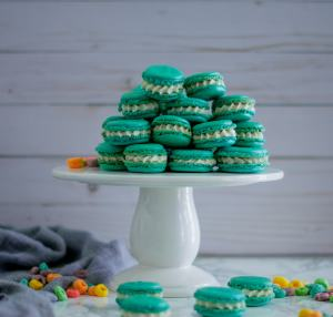 Fruit Loop Macarons