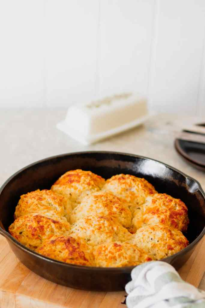 White Cheddar & Rosemary Biscuits