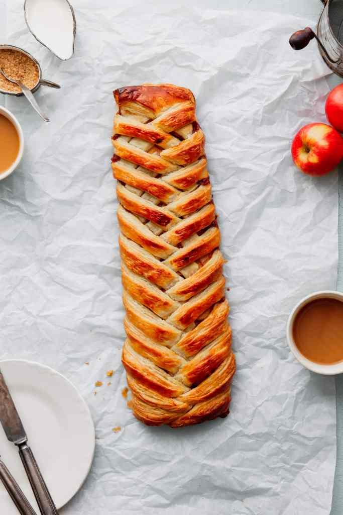 Braided Apple Danish Recipe