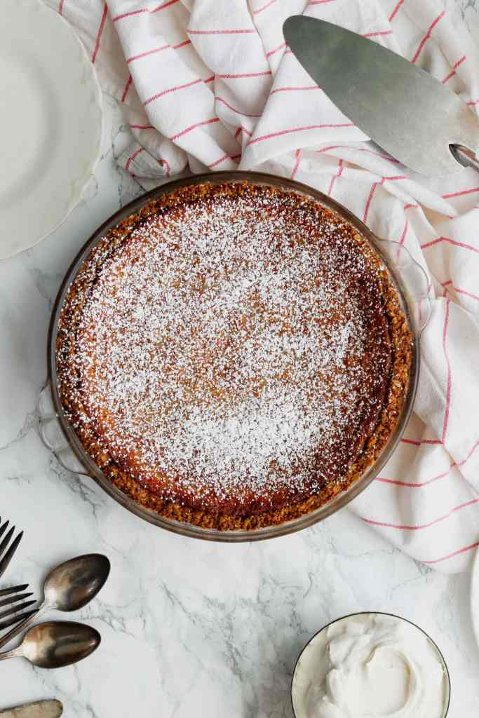 Apple Cider Chess Pie Recipe