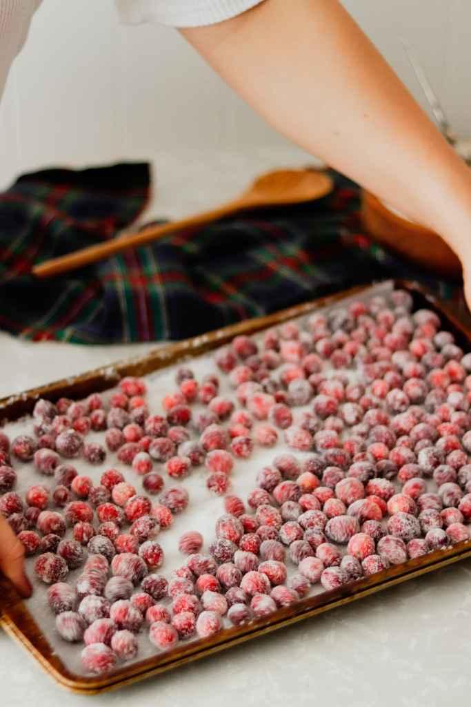 Sugared Cranberry Recipe