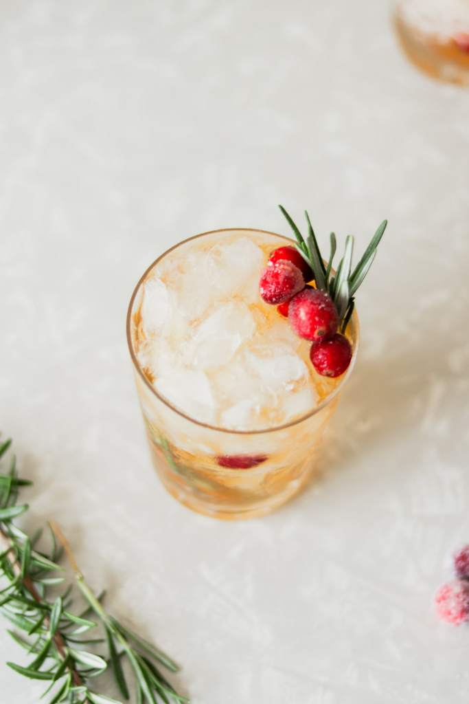Cranberry Julep Holiday Cocktail Recipe