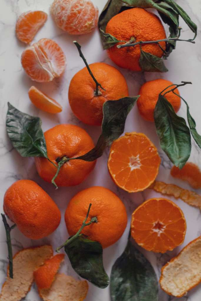 Winter Citrus and a Christmas Greeting