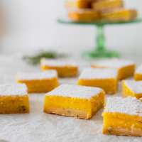 Cara Cara Orange Bars (with a thyme shortbread crust!)