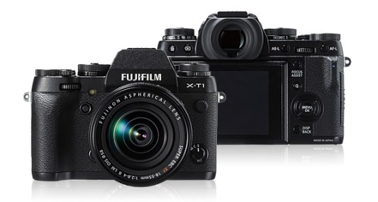 The Fujifilm X-T1