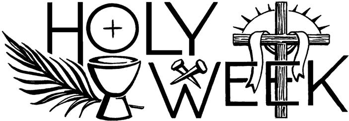 Holy Week Services « Midwest Theater