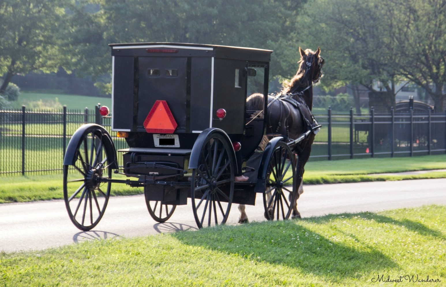 following the amish country