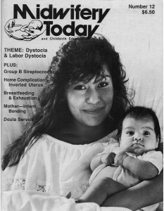 Midwifery Today Issue 12