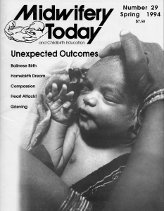 Midwifery Today Issue 29