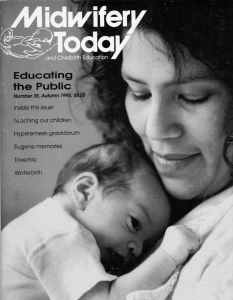 Midwifery Today Issue 35