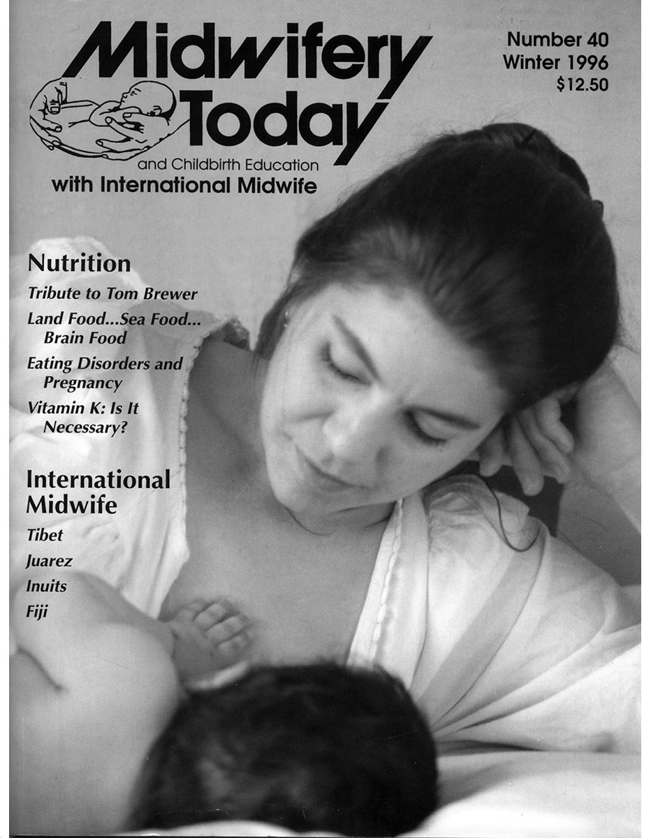 Midwifery Today Issue 40