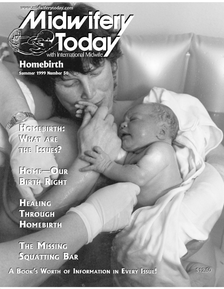 Midwifery Today Issue 50