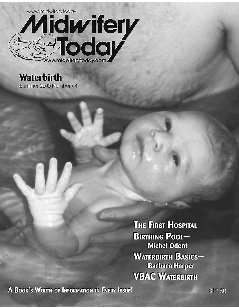 Midwifery Today Issue 54