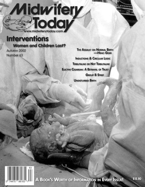Midwifery Today Issue 63