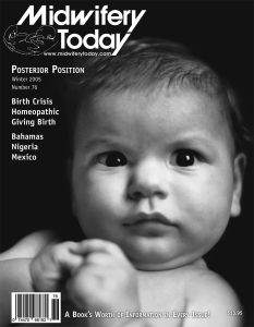 Midwifery Today Issue 76