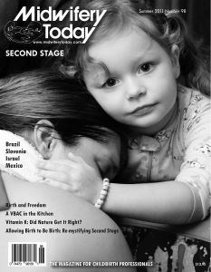 Midwifery Today Issue 98