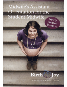 Midwife's Assistant Orientation For The Student Midwife DVD