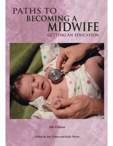 Paths To Becoming A Midwife, Getting An Education