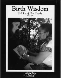 Birth Wisdom Tricks of the Trade, Volume III