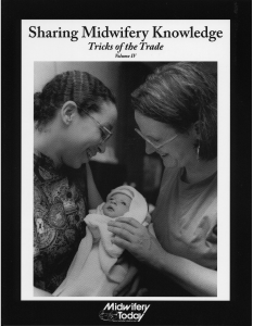 Sharing Midwifery Knowledge, Tricks of the Trade, Volume IV