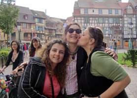 Elena, Lara and Carol